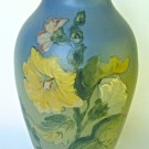 WELLER POTTERY HUDSON LINE with FULL SIGNATURE of KENNEDY